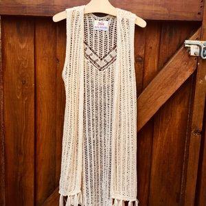 Girl's boho crochet beauty
